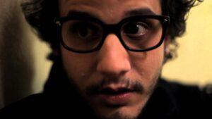 """Diego Freire no curta-metragem """"Selo""""."""