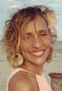 A atriz Gabriela Alves.