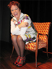 A atriz Loló Neves